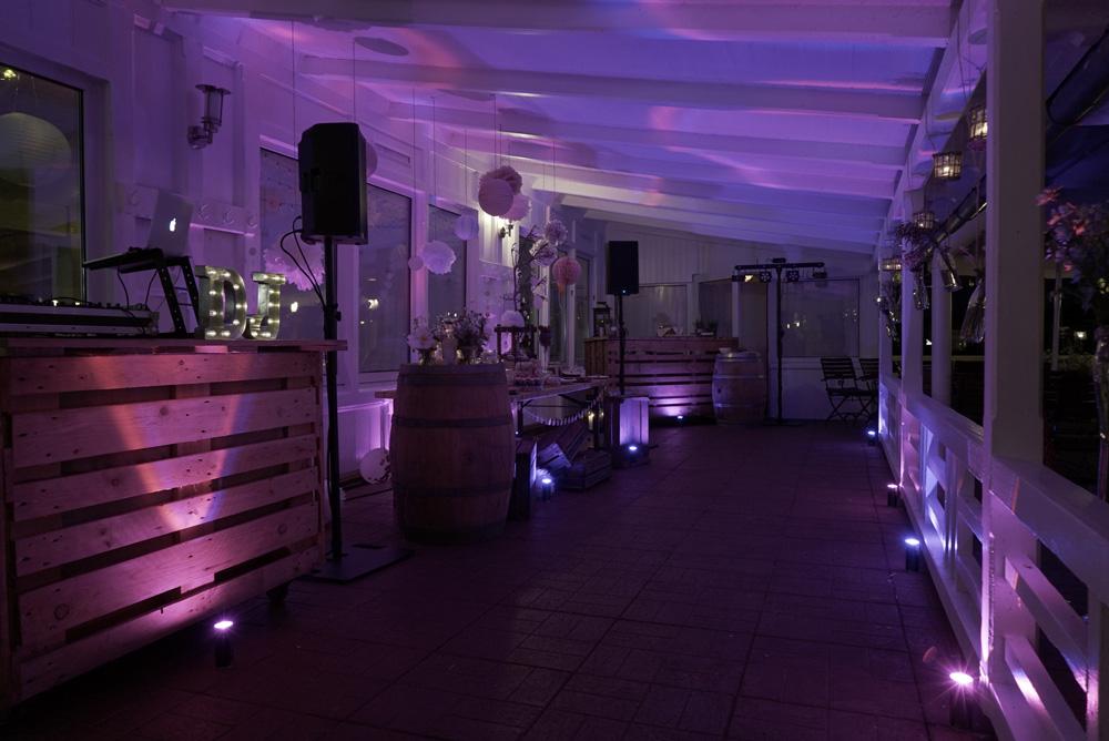 Gala-Licht DJ Hochzeit